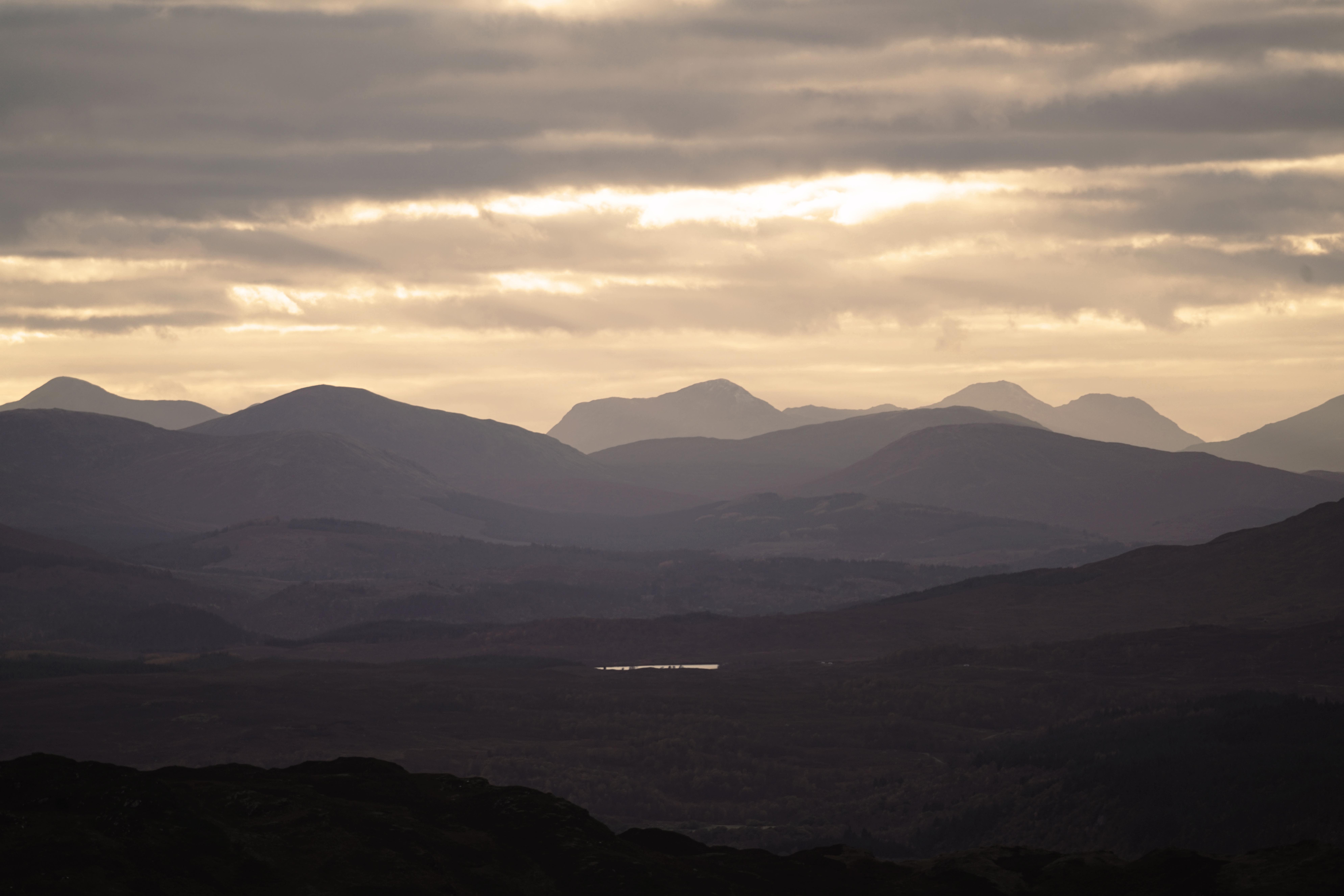 vývoj lichenometrických datovania krivky pre Highland Škótsko datovania niekoho s depresiou