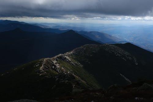 Free stock photo of climb, god ray, mountain, New Hampshire