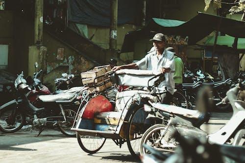 Foto stok gratis bangsa asia, kerja keras, orang asia, pasar tradisional