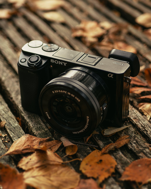 Close-Up Photo of Digital Camera