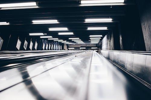 Fotos de stock gratuitas de acero, adentro, efecto desenfocado, electricidad