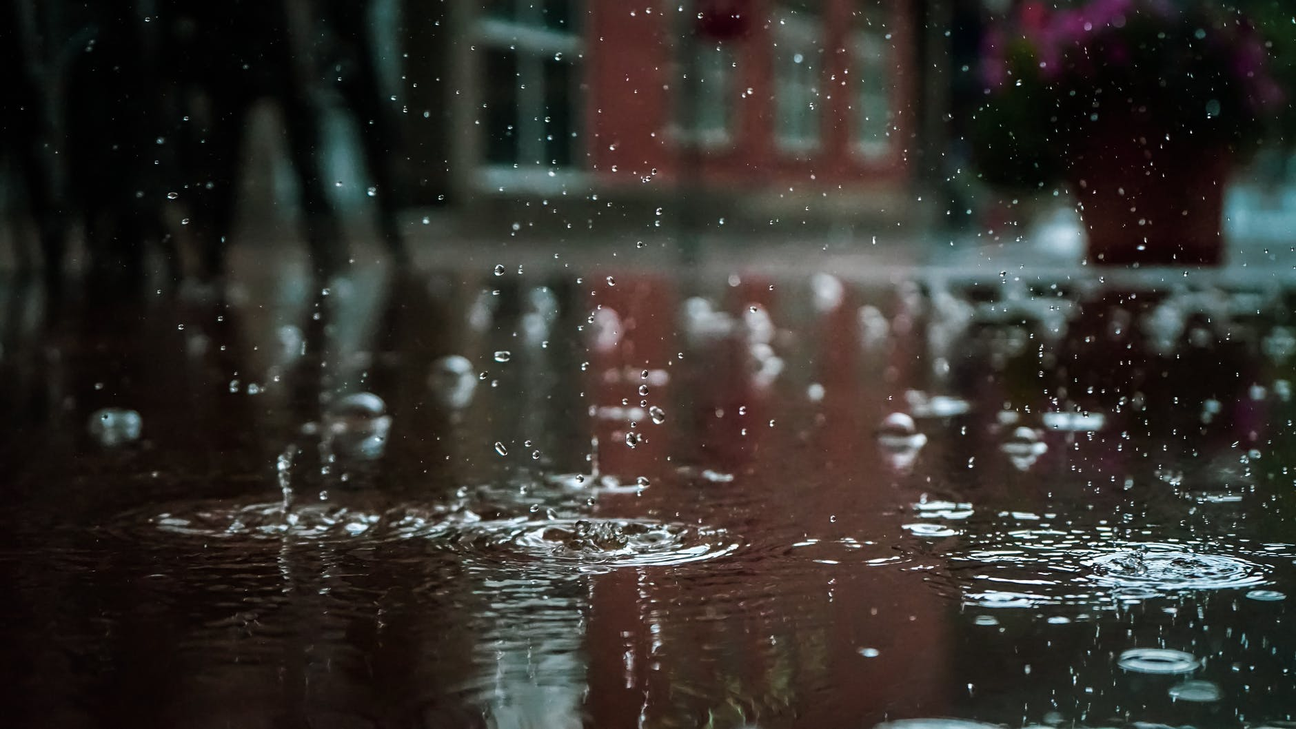 Raindrops are remarkably similar helps to identify the different environments