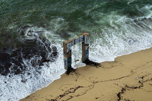 シースケープ, しぶき, ビーチ, 水の無料の写真素材