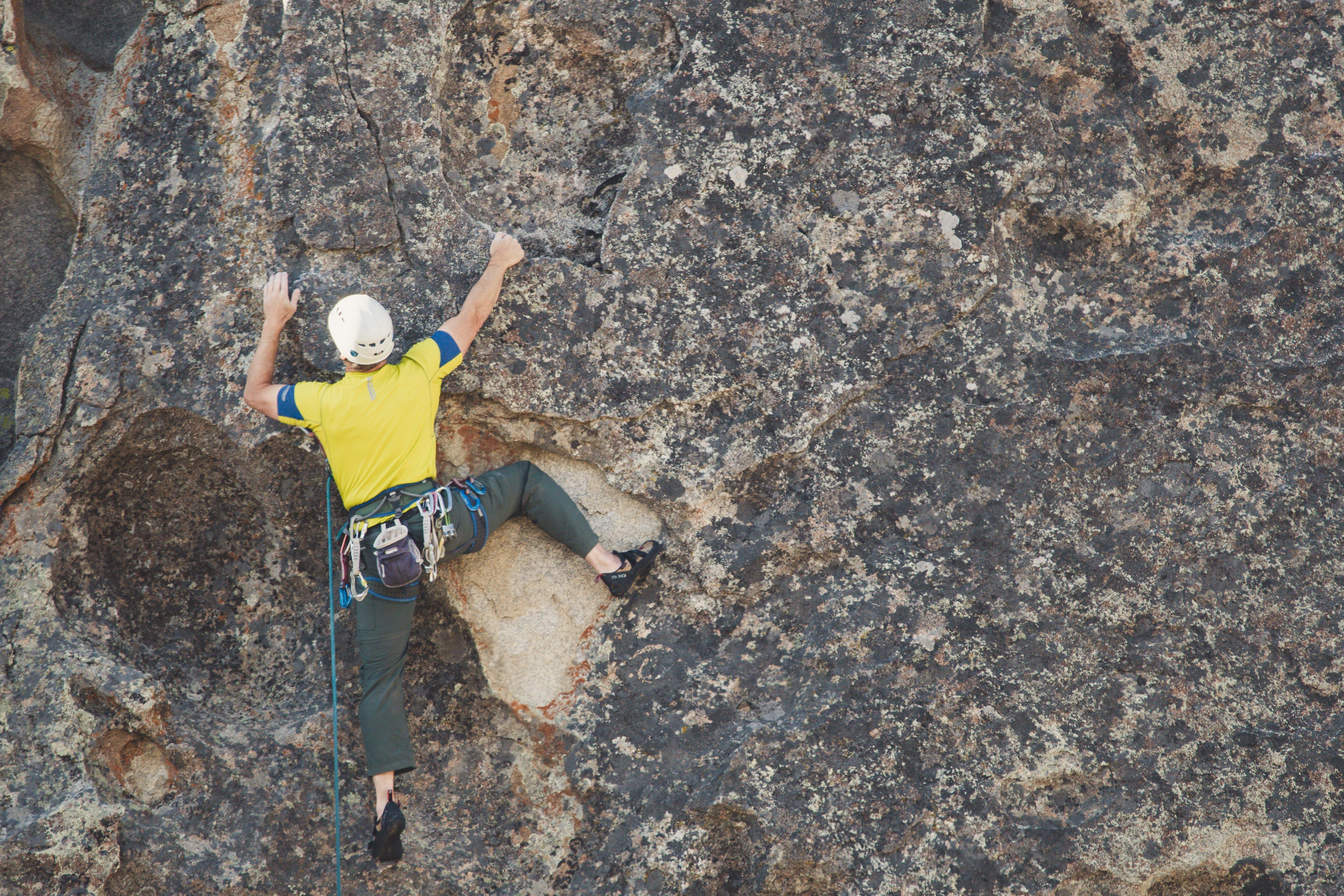 Free stock photo of climber