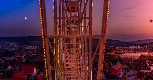 Free stock photo of big wheel, city center, festival