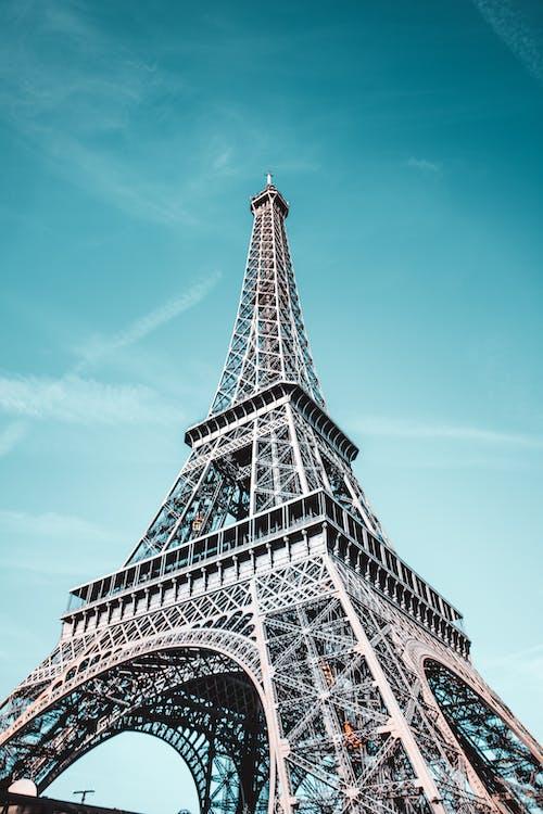 エッフェル塔, シティ, タワーの無料の写真素材