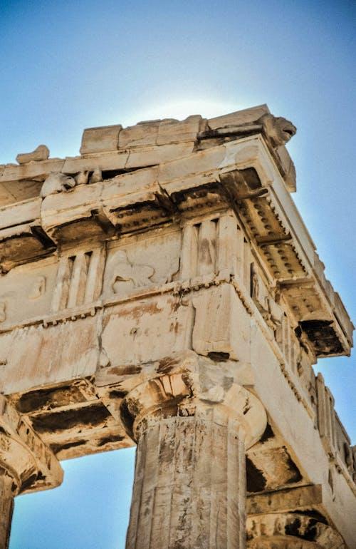คลังภาพถ่ายฟรี ของ กรีซ, การเดินทาง, ชายหาด, ตึกร้าง