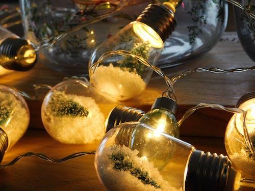 Foto stok gratis lampu Natal