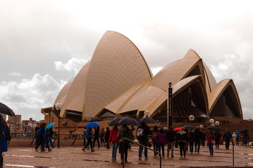 Free stock photo of after the rain, sydney opera house