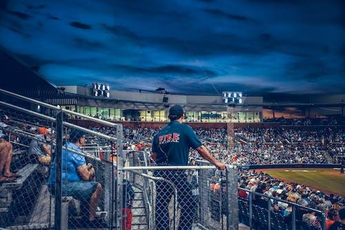 Free stock photo of baseball, baseball game, crowd