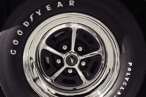 Free stock photo of antique, car show, chrome