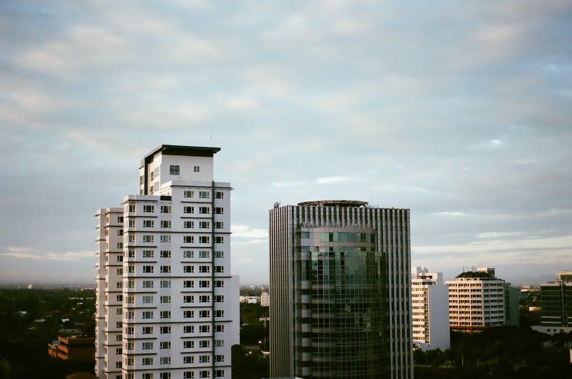 cảnh quan thành phố, giờ vàng, kiến trúc