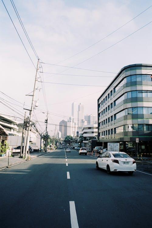 Ingyenes stockfotó épület, kora reggel, nappal, Taxi témában