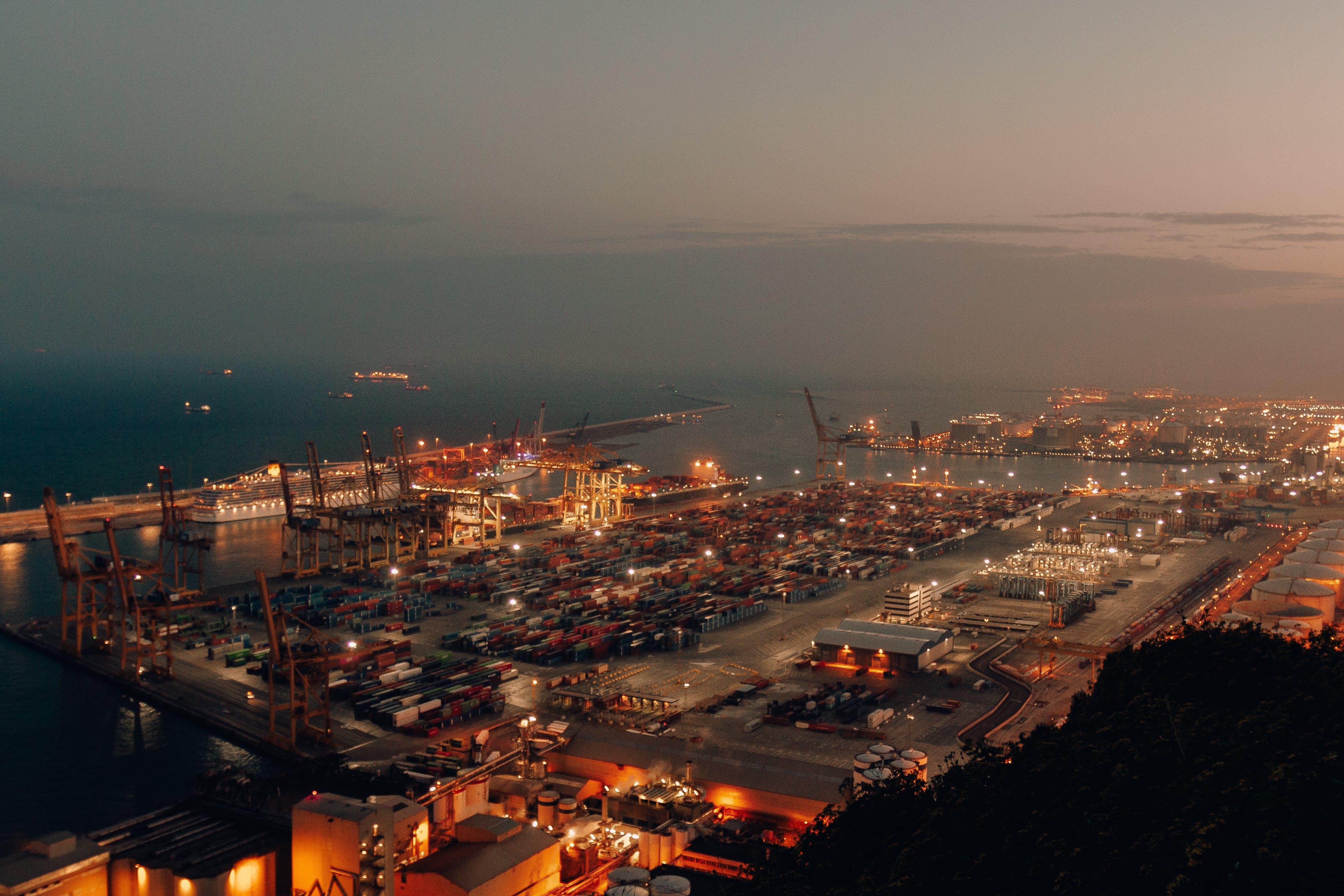 Gratis lagerfoto af by, eksport, hav, havn