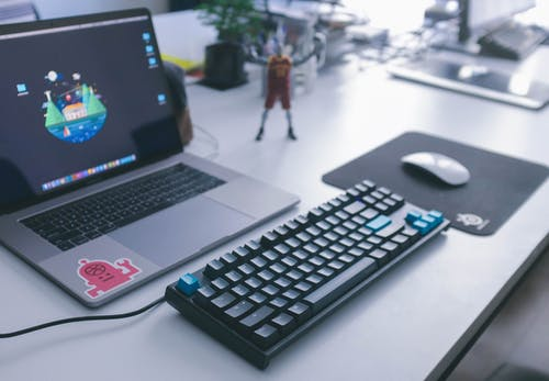 Photos gratuites de apple, bureau, clavier, clavier mécanique
