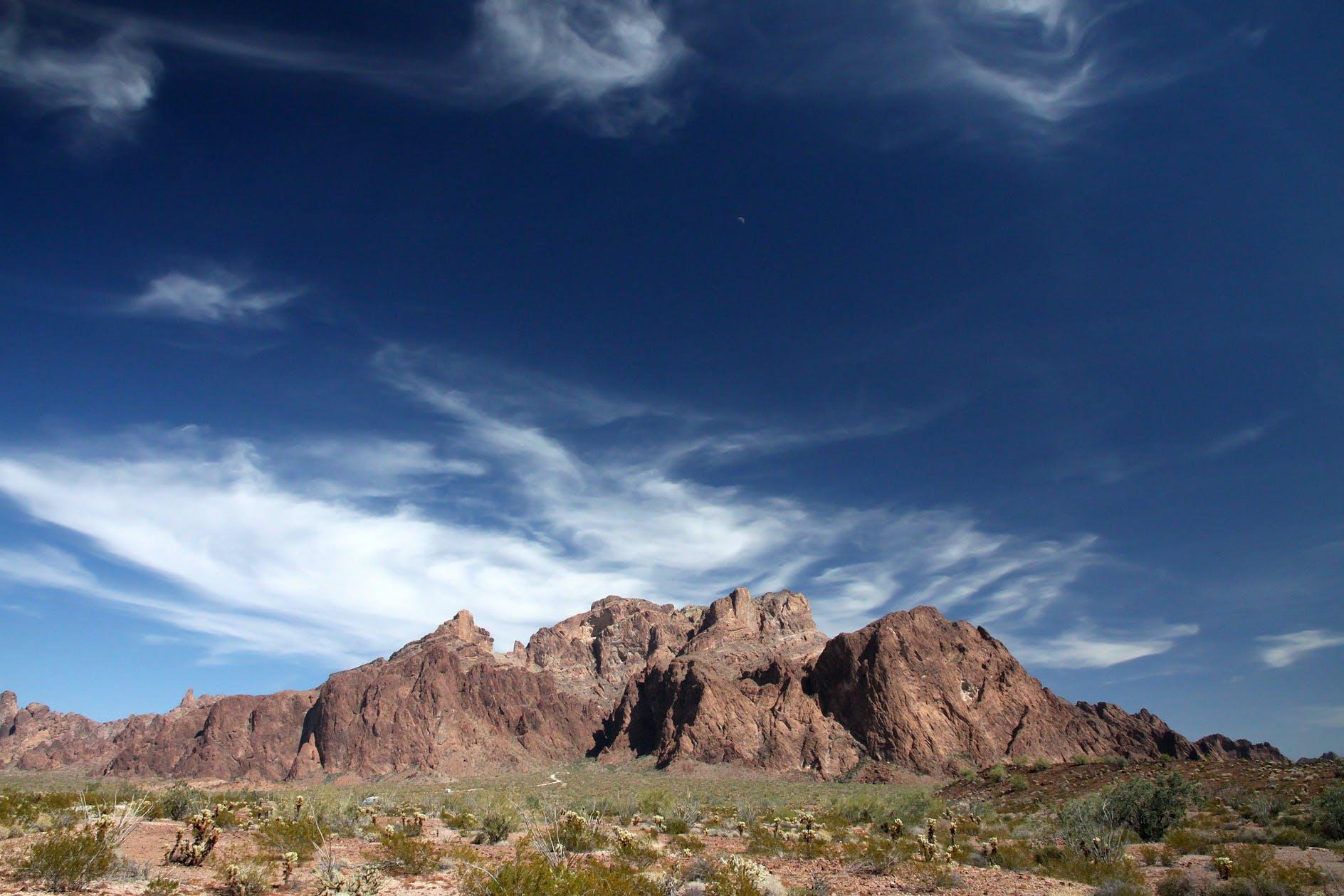 Immagine gratuita di arido, cielo, deserto, montagna