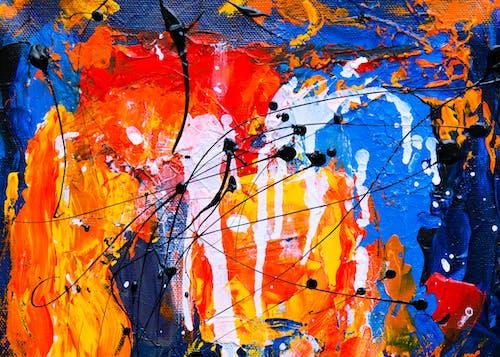 Darmowe zdjęcie z galerii z abstrakcyjny ekspresjonizm, akryl, artystyczny, ekspresjonizm