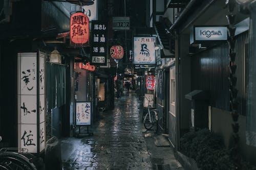 お店, シティ, ライト, 商取引の無料の写真素材