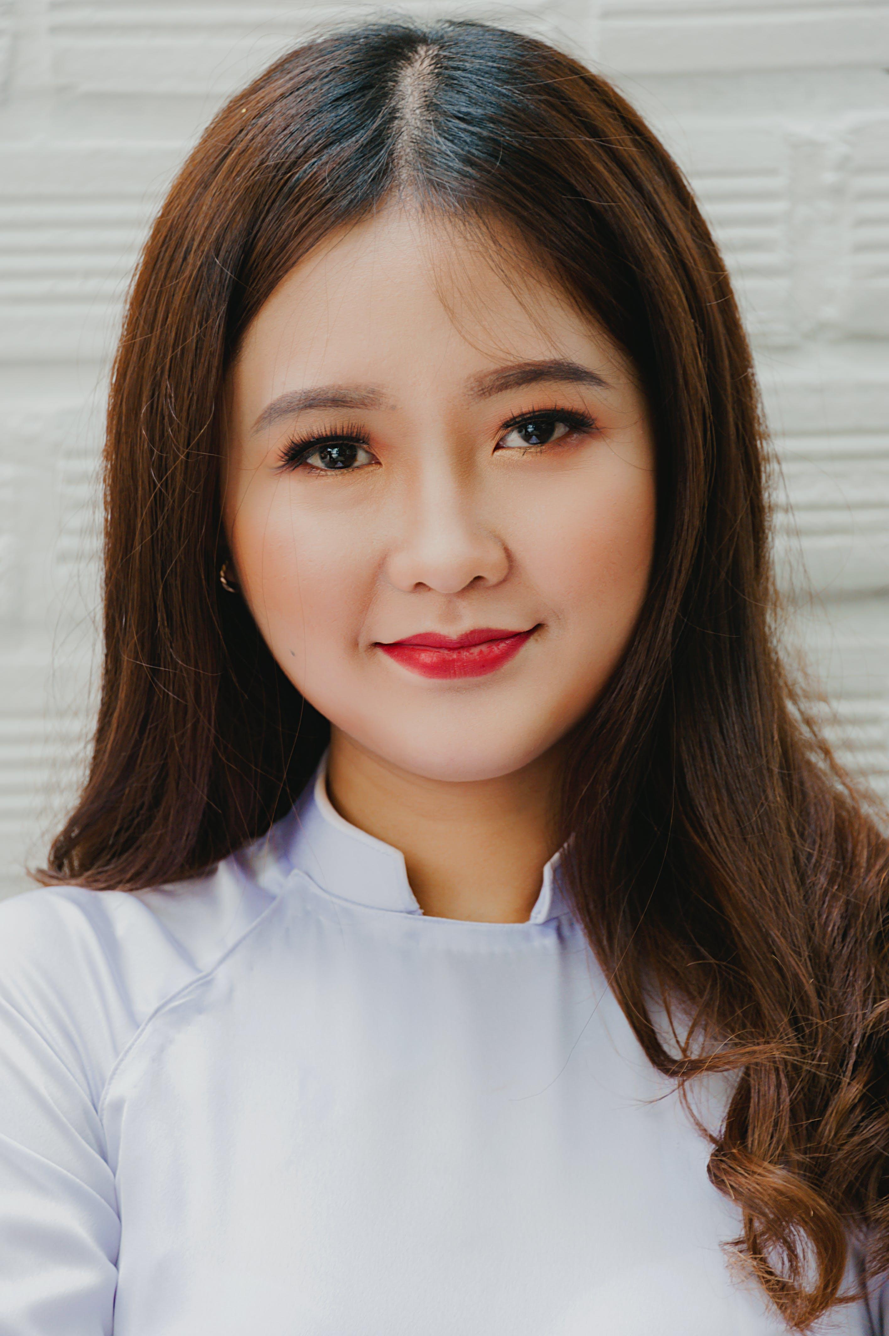Gratis lagerfoto af ansigtsudtryk, asiatisk kvinde, Asiatisk pige, close-up