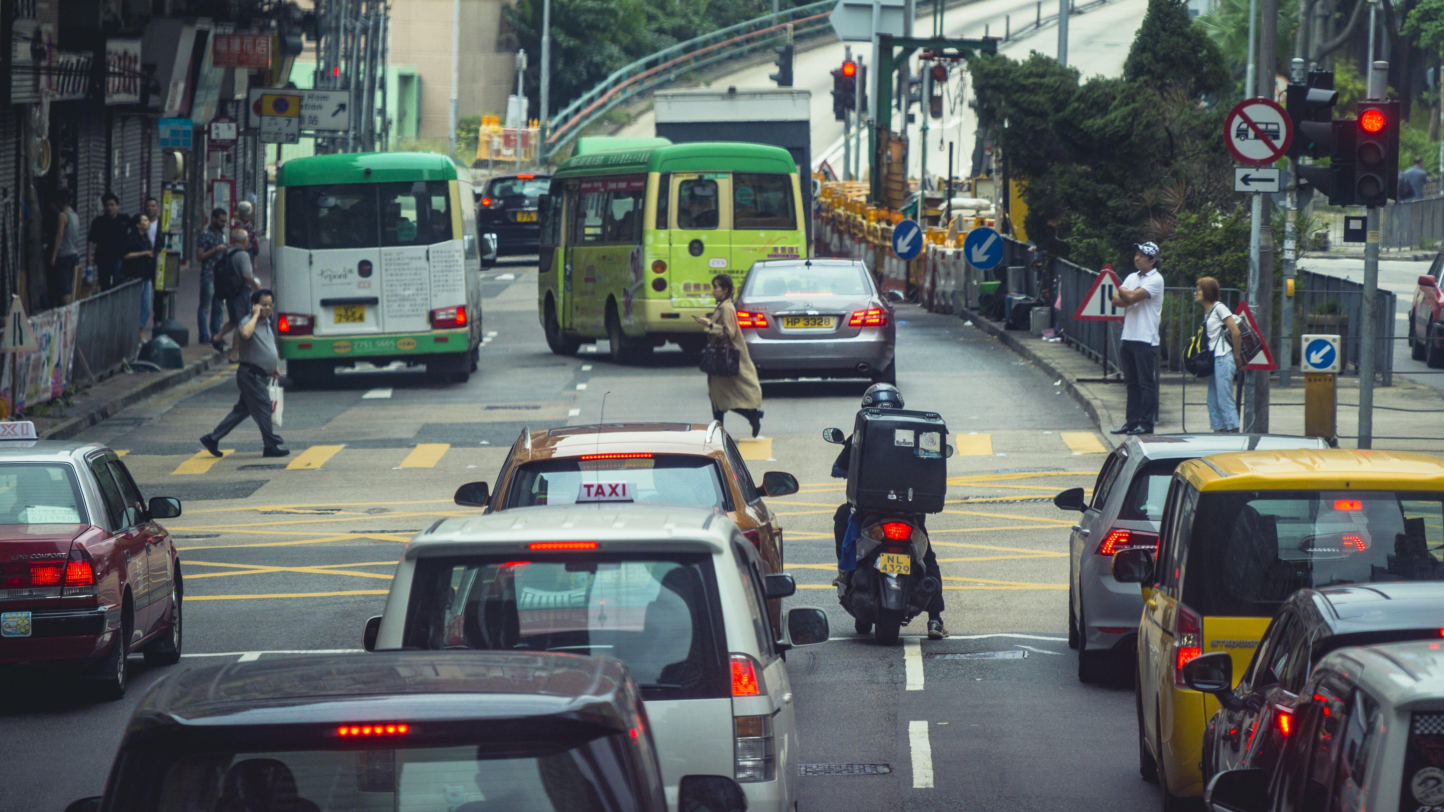 Kostenloses Stock Foto zu asien, autos, fahrzeuge, hongkong