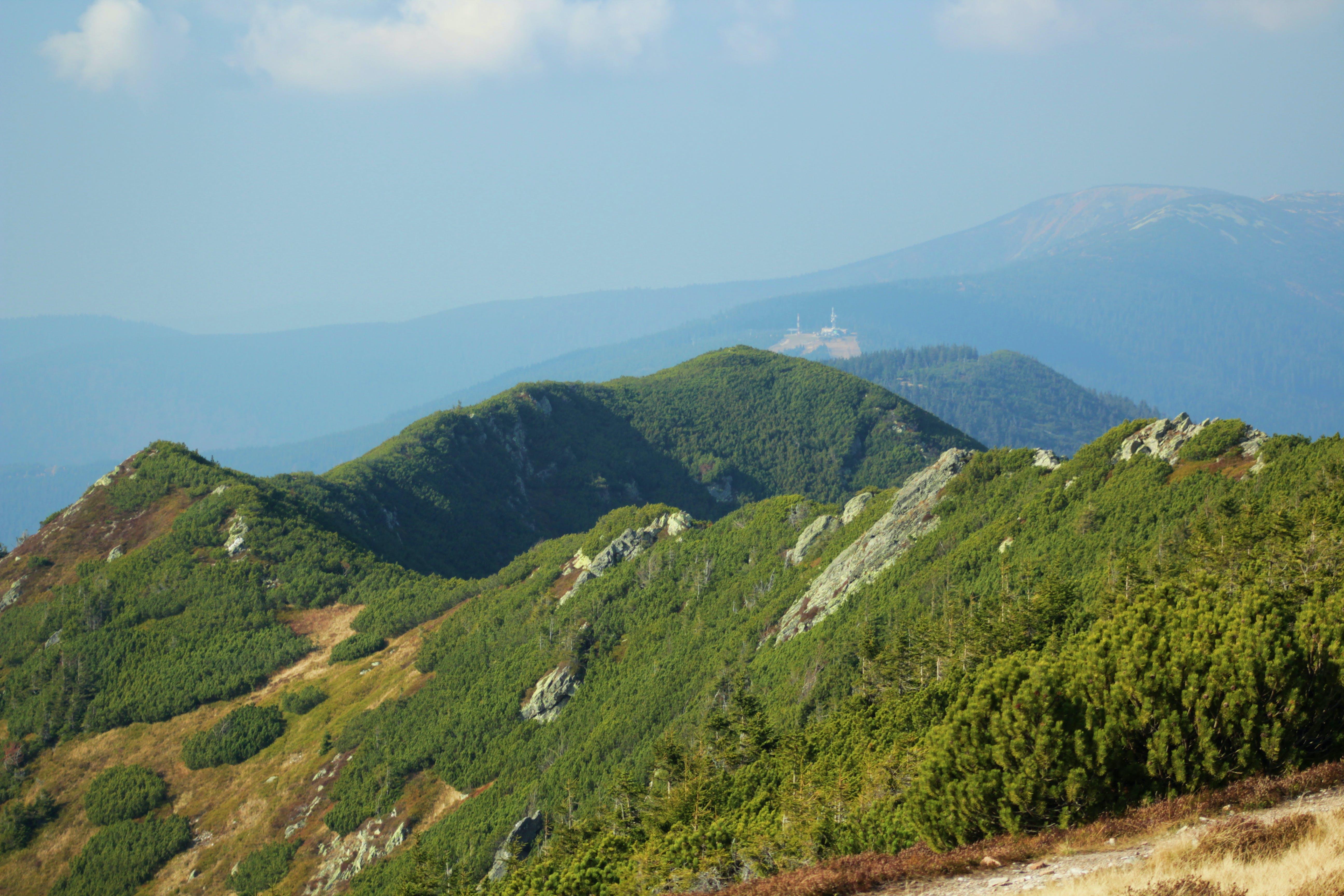Foto d'estoc gratuïta de assolellat, dia assolellat, karkonosze, muntanya