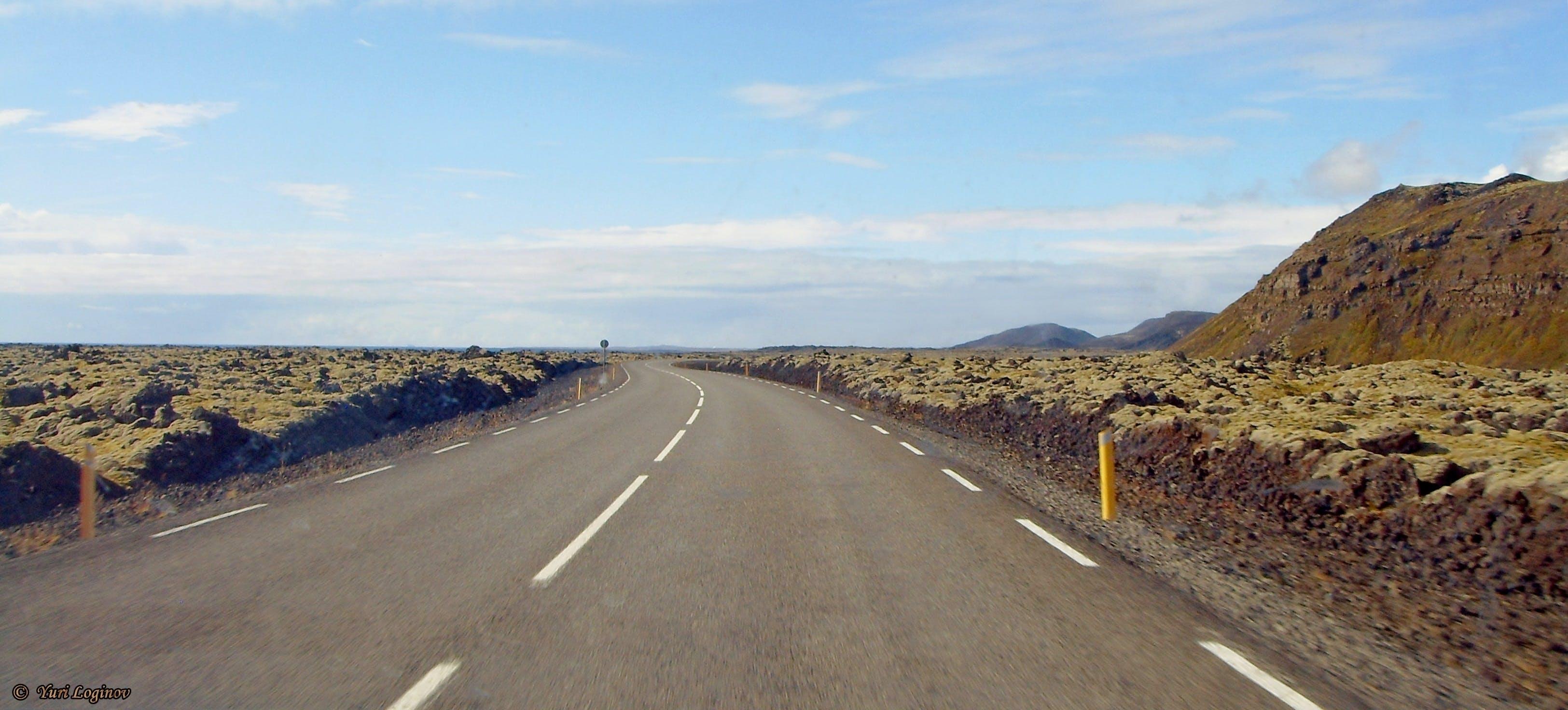 Free stock photo of island, Suðurnes, Vigdísarvallavegur