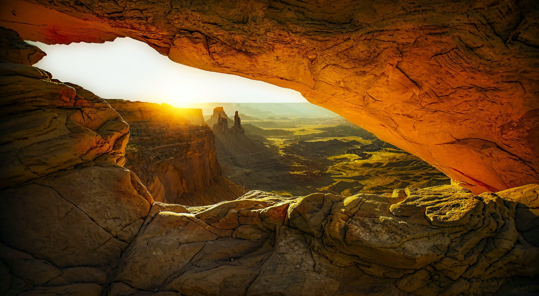 Gratis arkivbilde med bergformasjon, canyon, daggry, dagslys