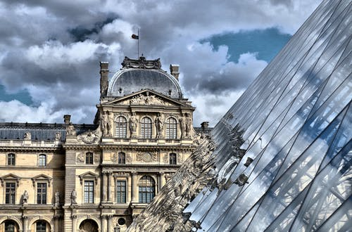 Free stock photo of holiday, louvre
