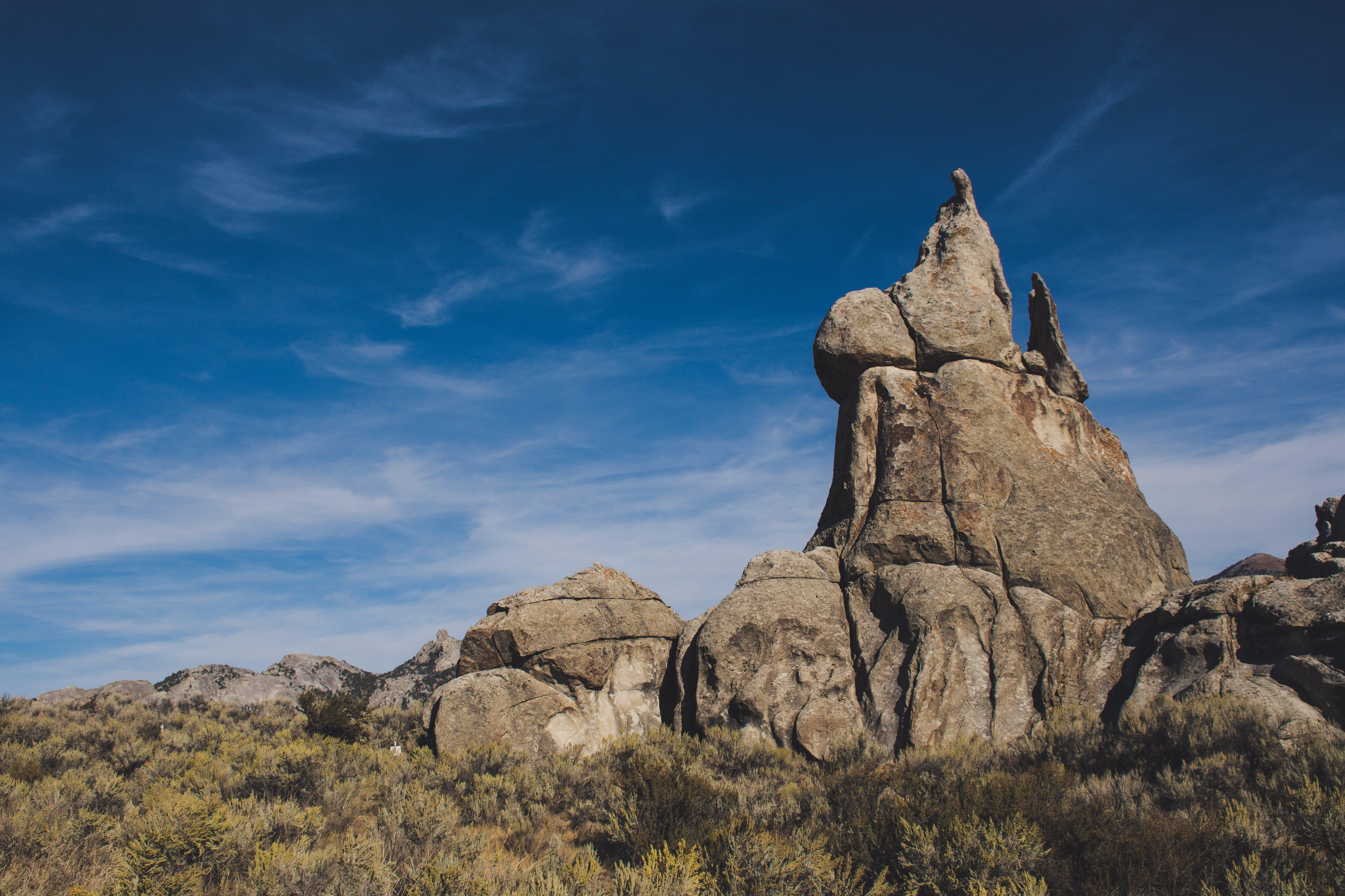 Brown Stone Mountain