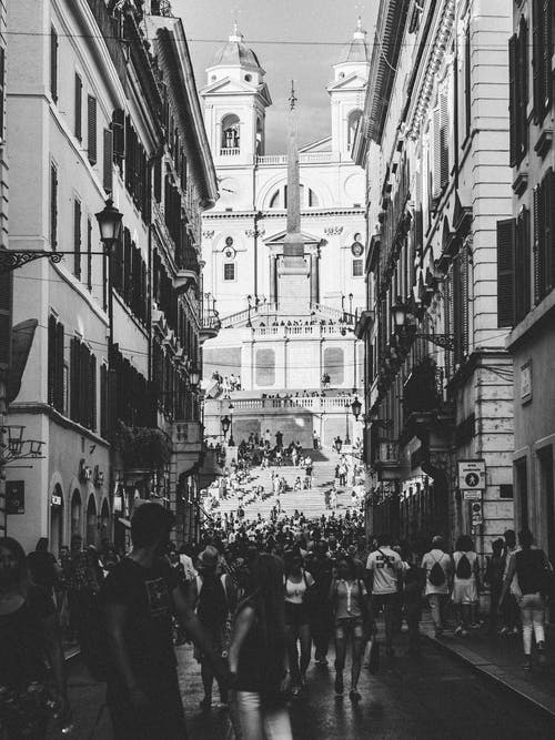 Free stock photo of city, crowd, people, rome