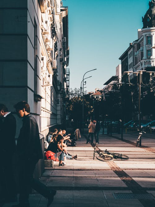 Free stock photo of building, city center, city life, day