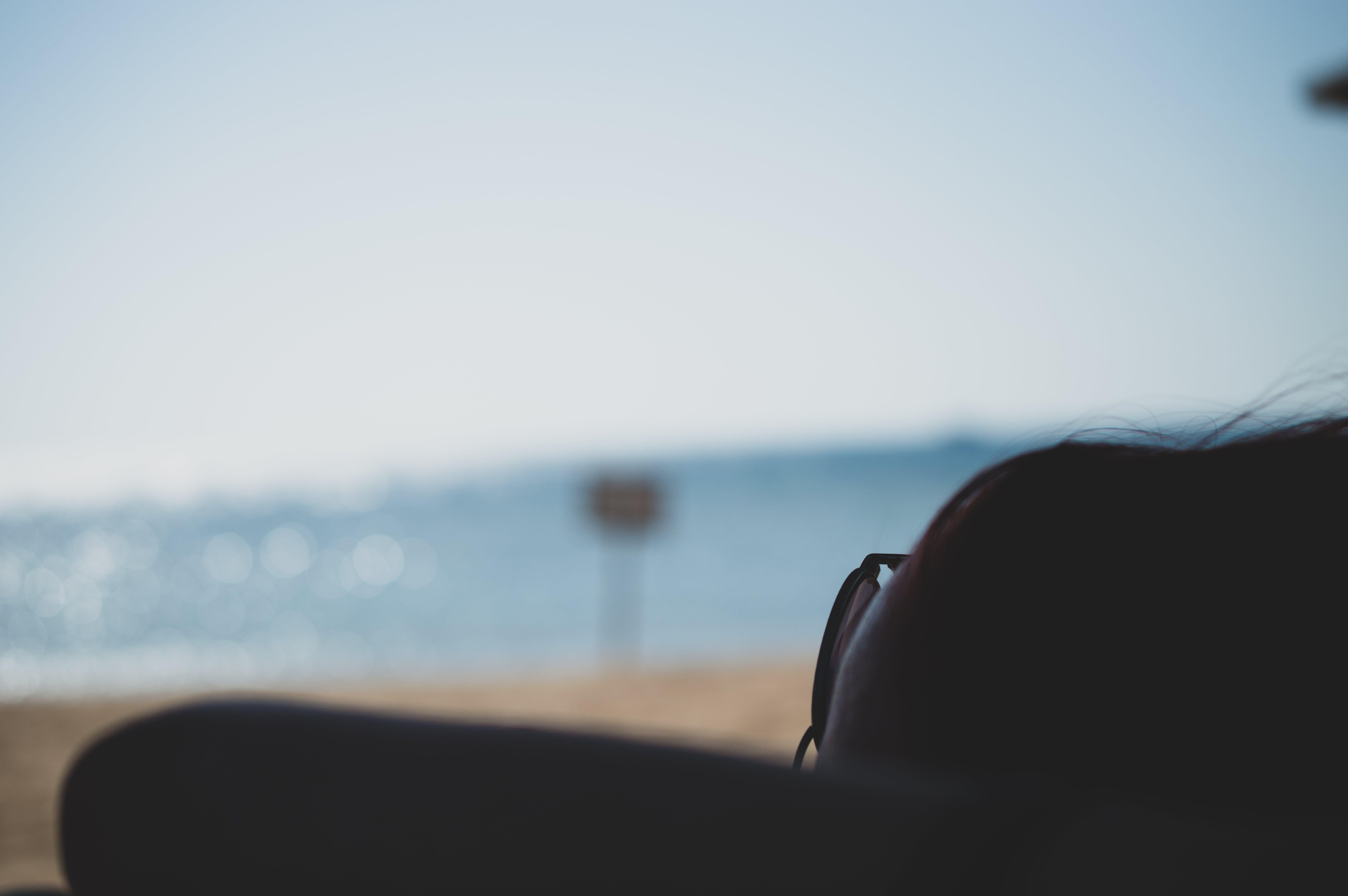 サングラス, ビーチ, フォーカス, 太陽の無料の写真素材
