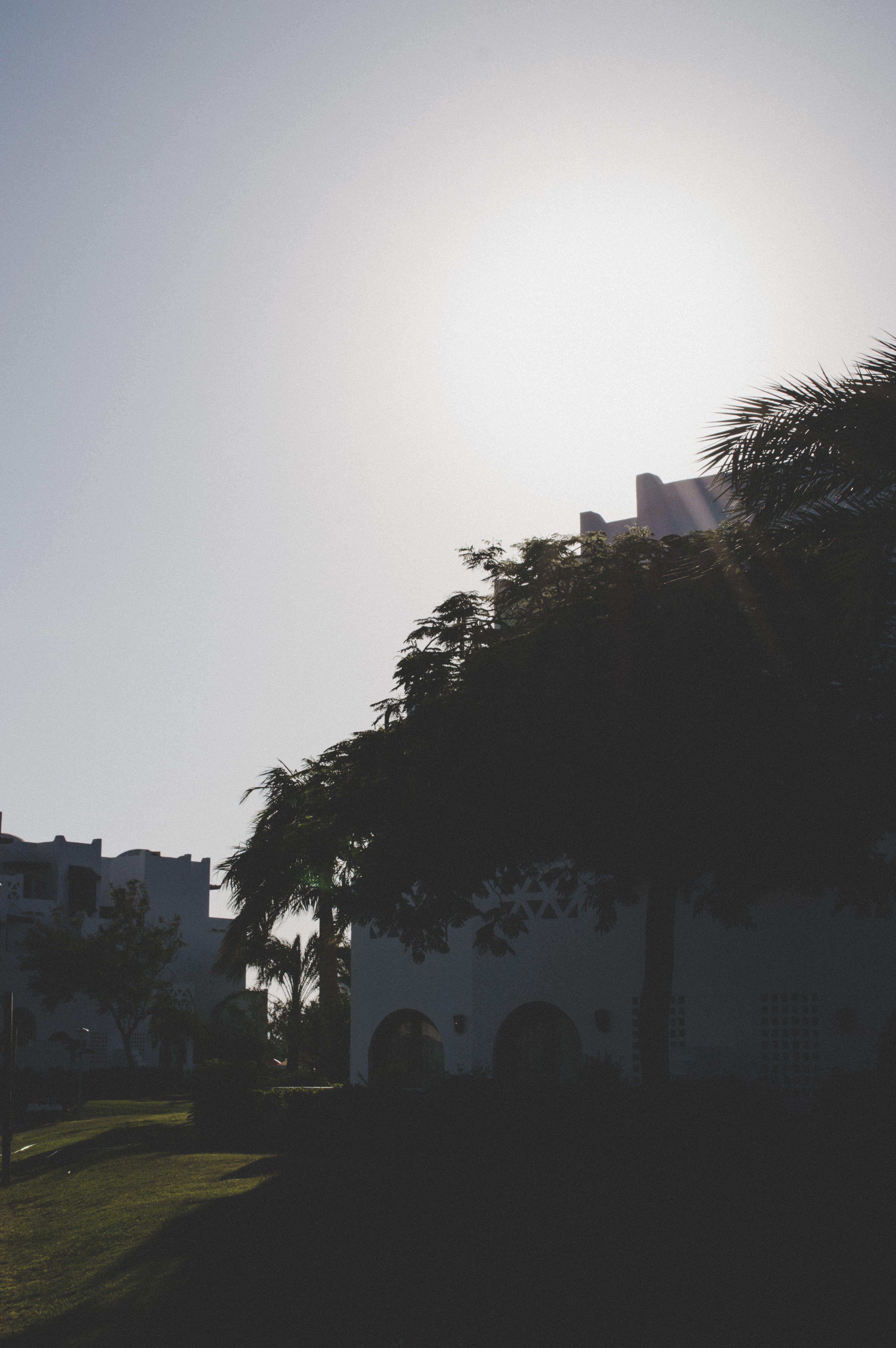 アウトドア, 太陽, 建物, 建物の外観の無料の写真素材