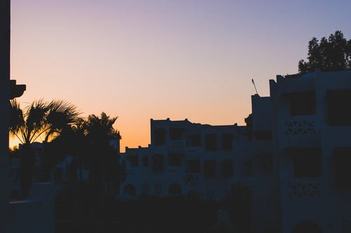 Free stock photo of buildings, clear sky, colours, nature