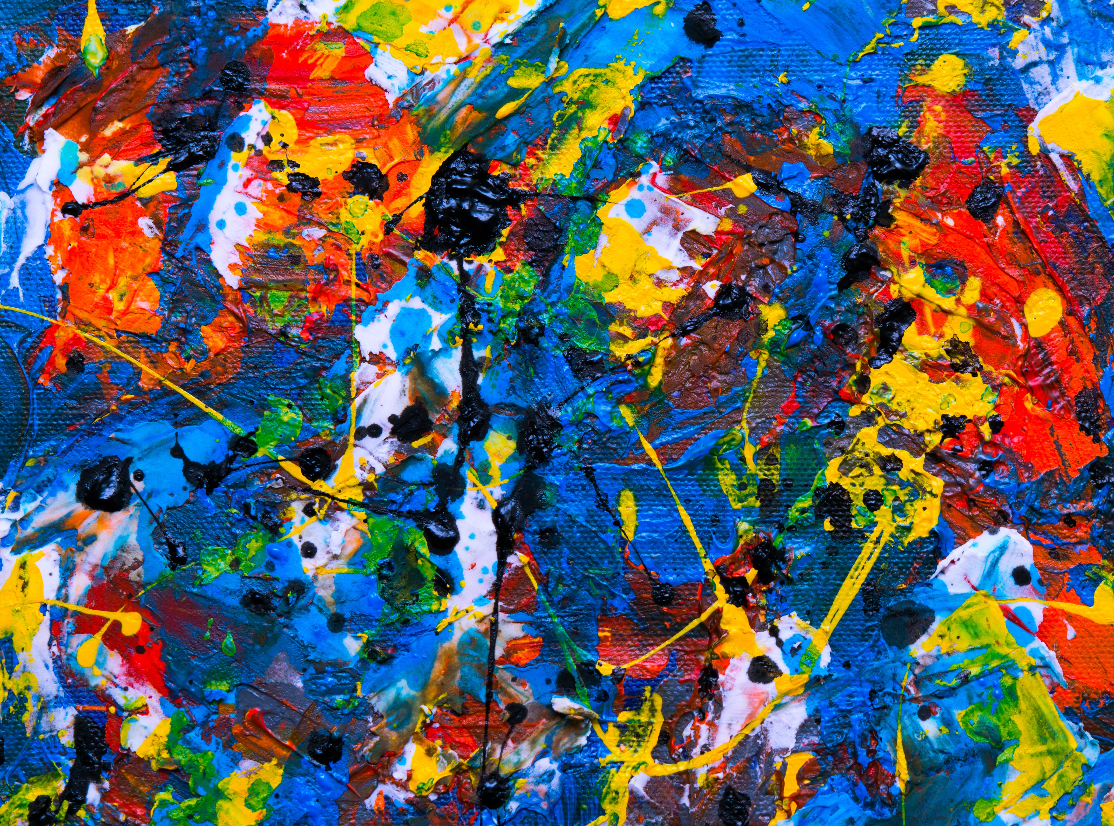 of abstract painting, acrylic paint, background, contemporary art