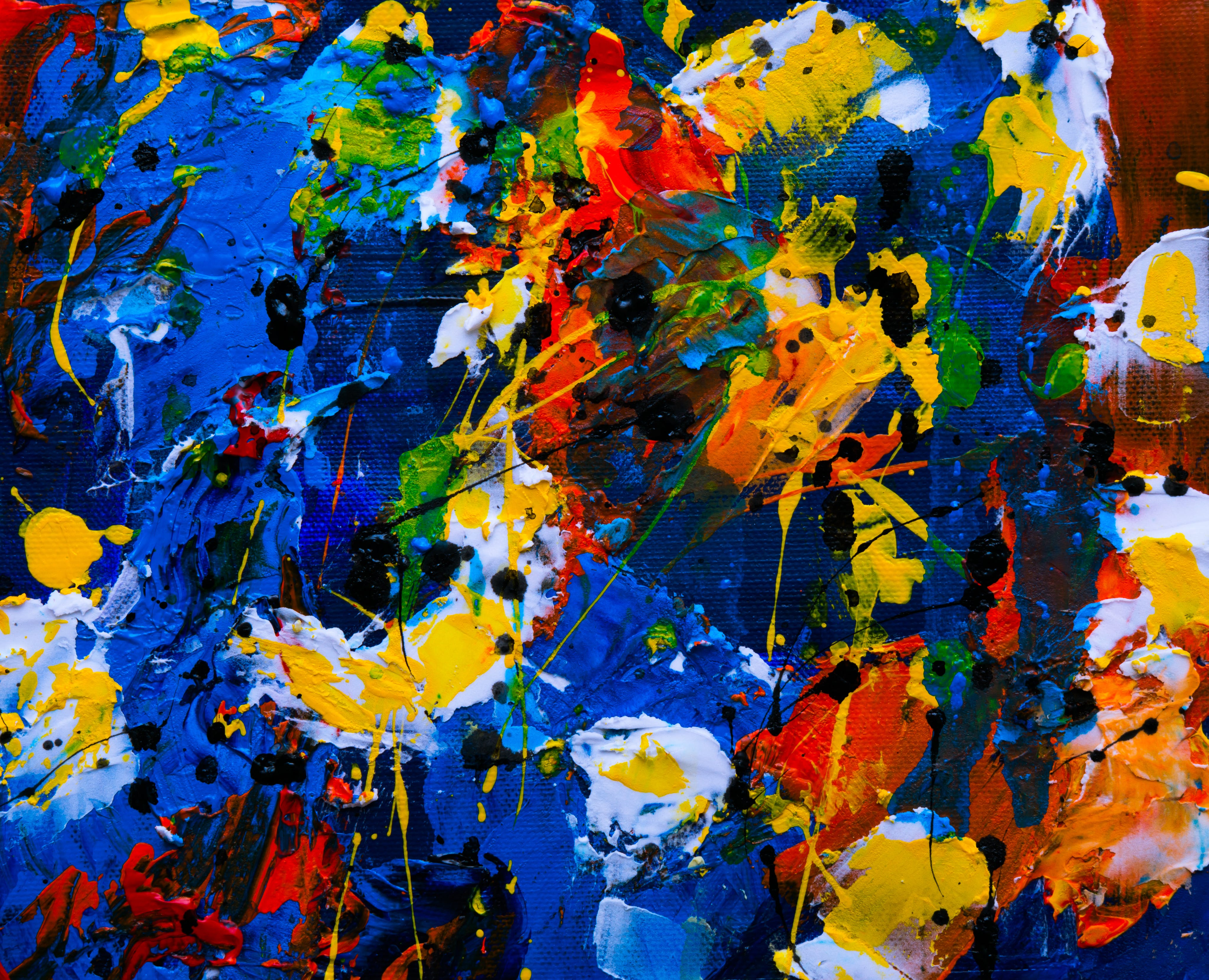 Free stock photo of abstract painting, acrylic paint, background, contemporary art