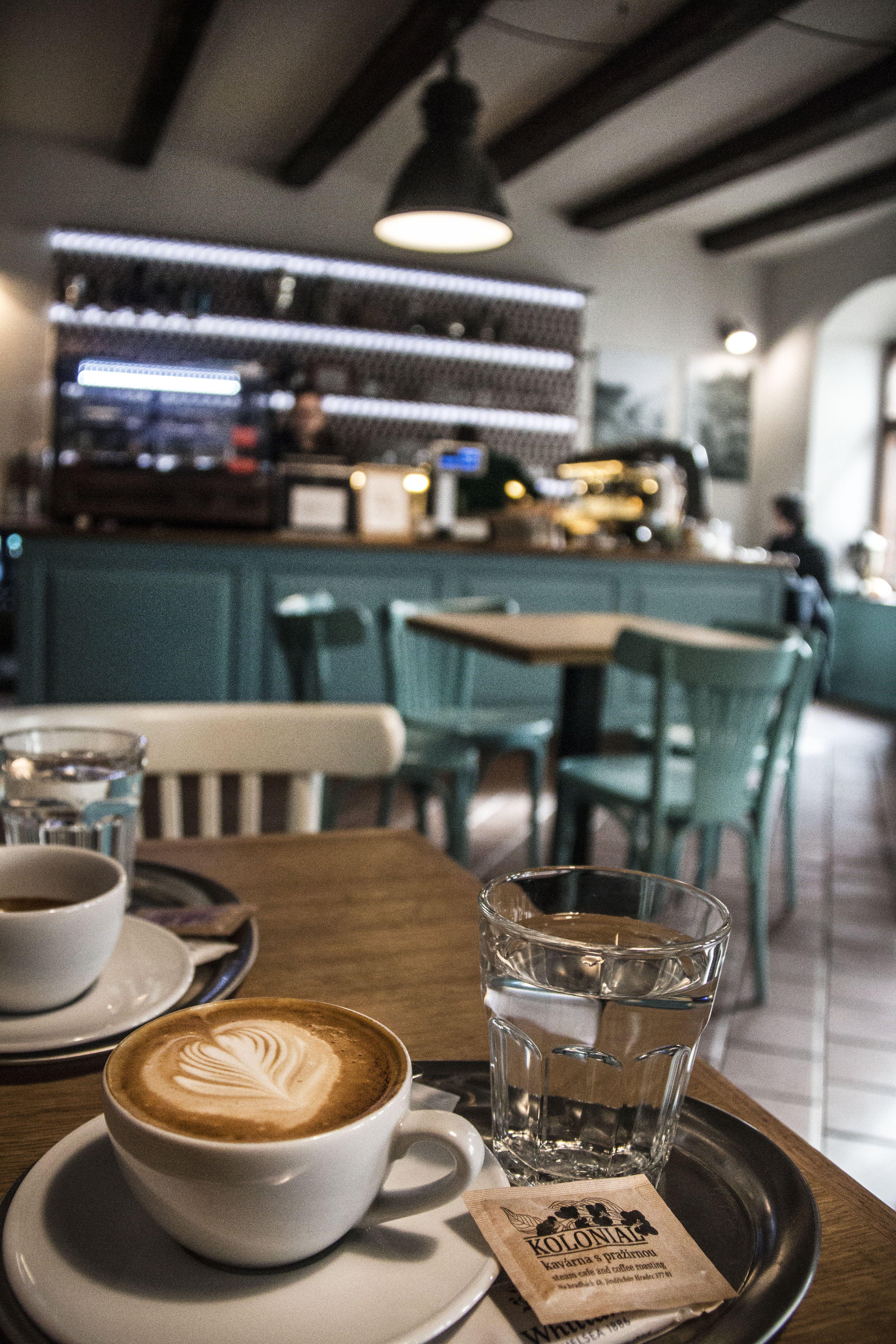 Kostenloses Stock Foto zu bar cafe, schwarzer kaffee