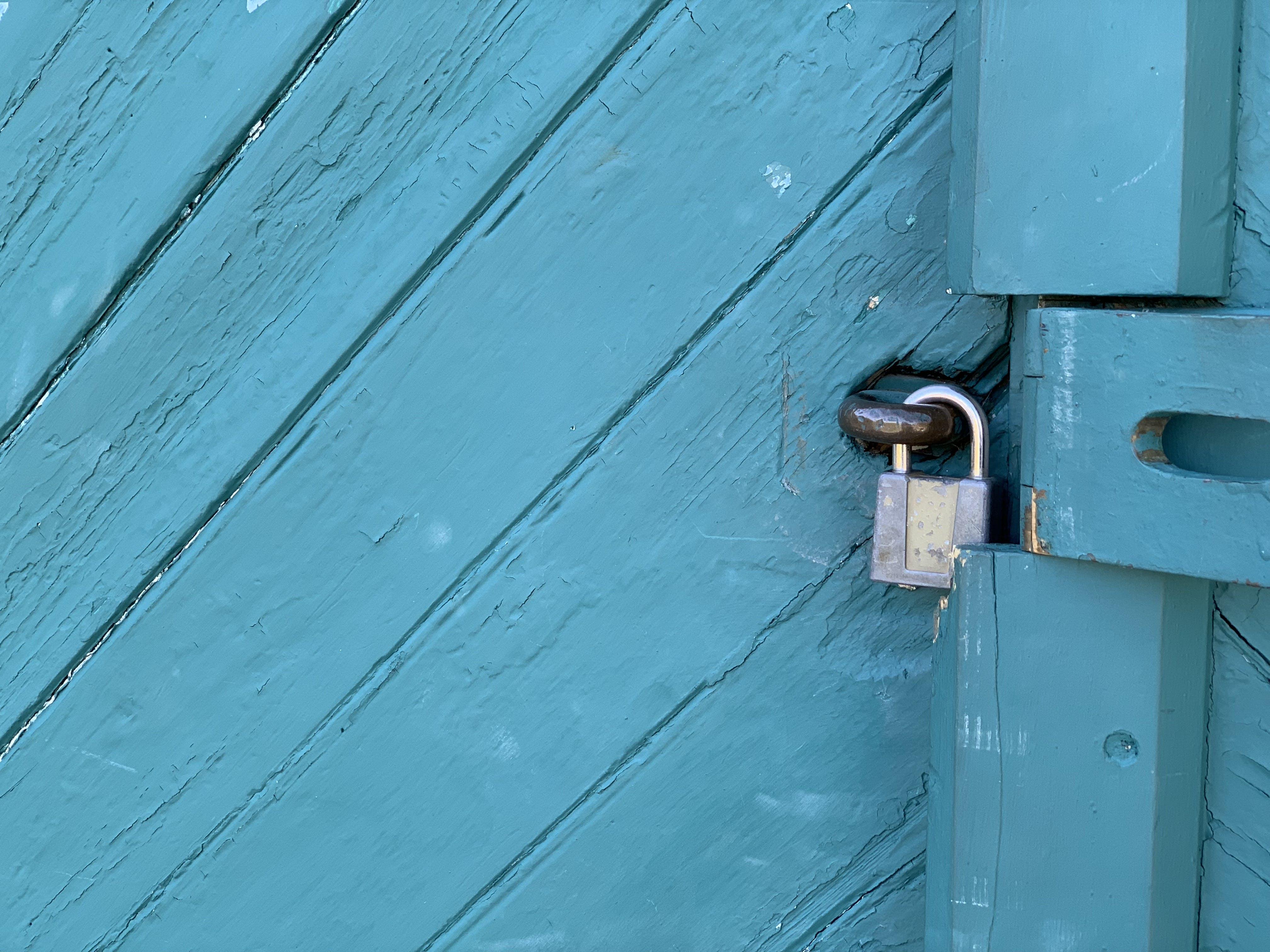 Free stock photo of closed door, lock, old lock, padlock