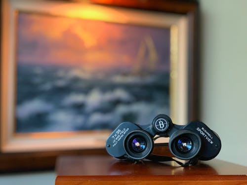 Free stock photo of artwork, binoculars, focus