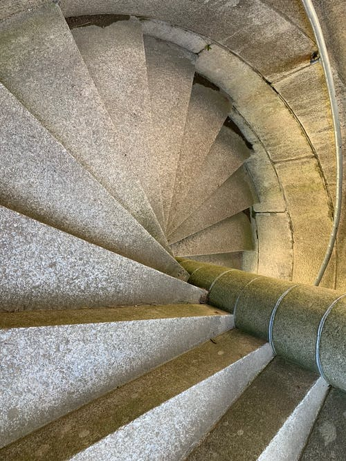 Free stock photo of castle stairs, castle steps, granite staircase, granite steps