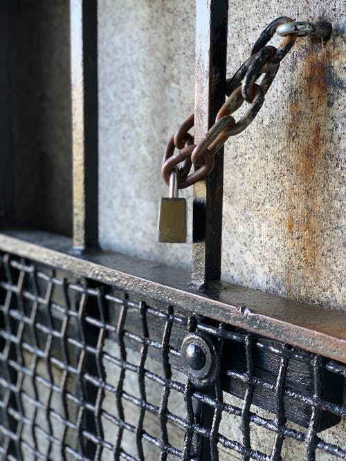 Free stock photo of chain, fort, lock, lock and chain