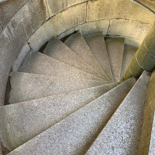 Free stock photo of castle stairs, granite stairs, granite steps