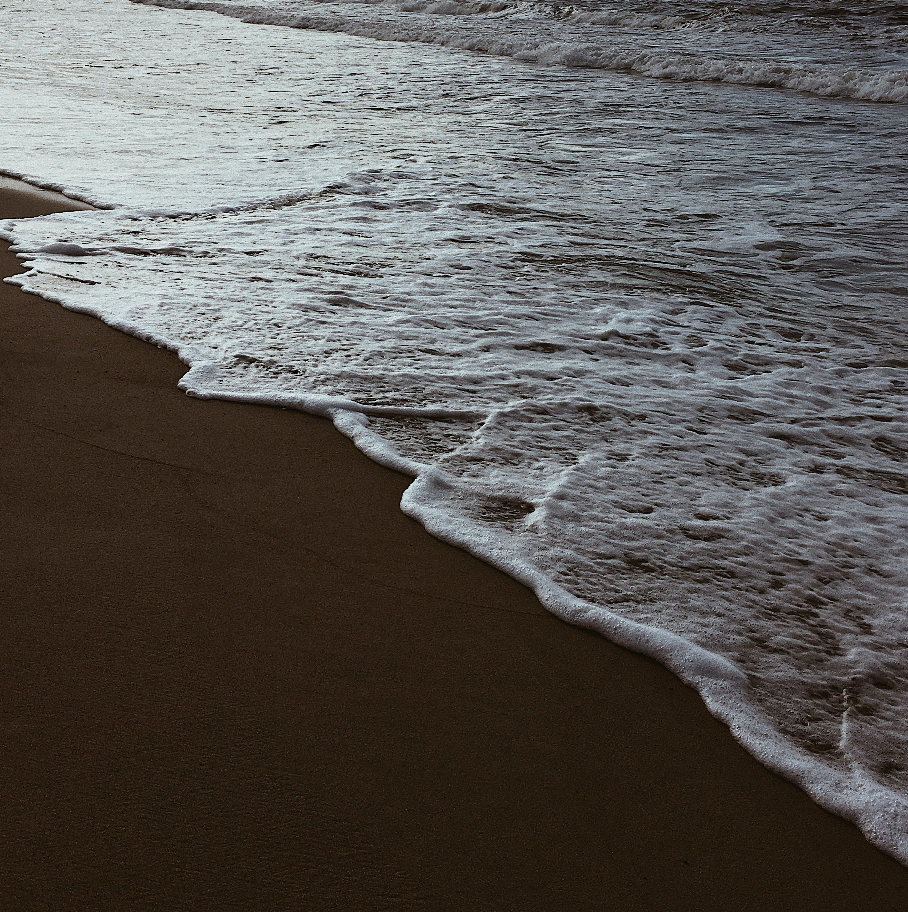 Sea Foam on by the Beach