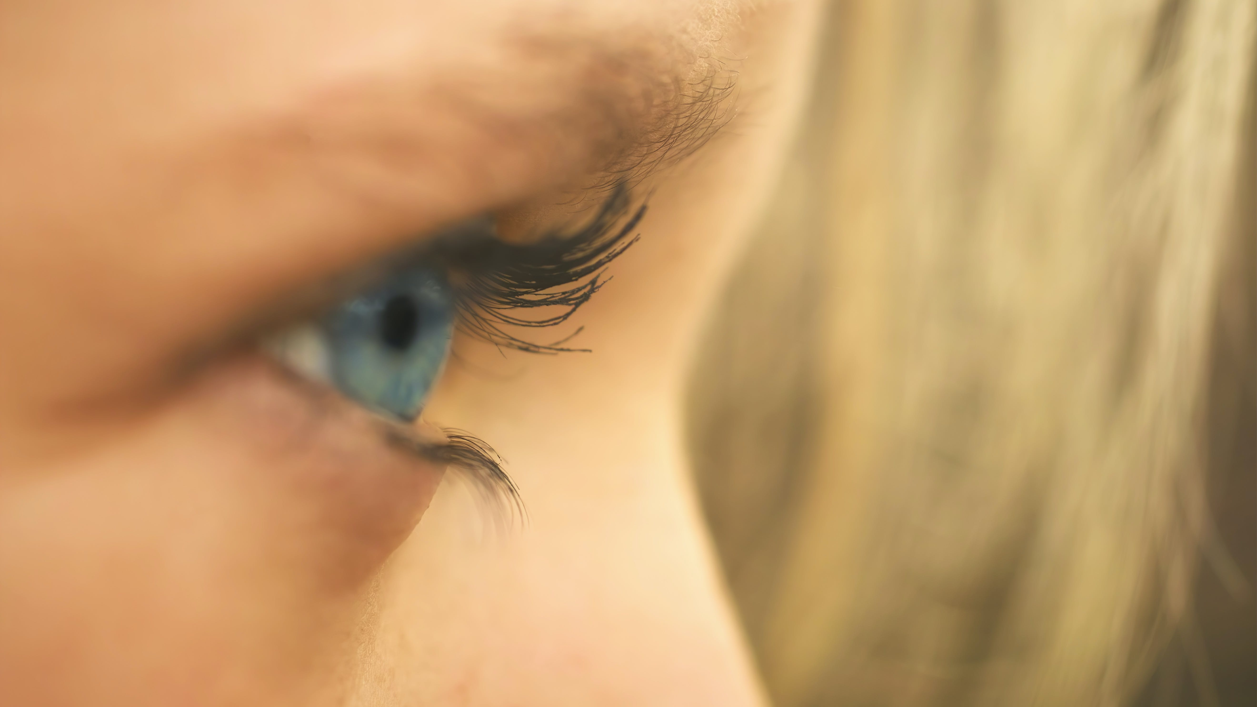 Gratis stockfoto met blauwe ogen, blurry, close-up, concentratie