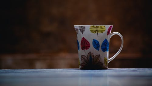 Close-Up Photo of Ceramic Mug