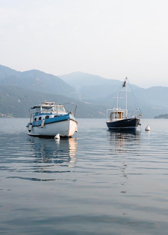 baie, bateau, bateaux
