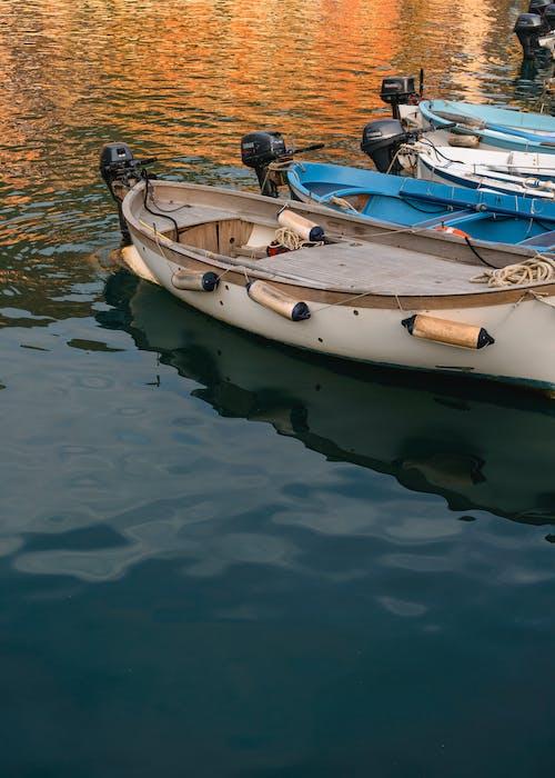 Foto stok gratis bahtera, kapal nelayan, perahu air, perahu motor