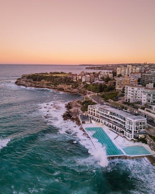 Δωρεάν στοκ φωτογραφιών με Surf, ακτή, αρχιτεκτονική, αυγή