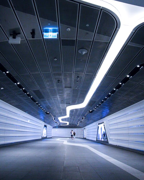 交通系統, 光, 地下, 地鐵系統 的 免费素材照片