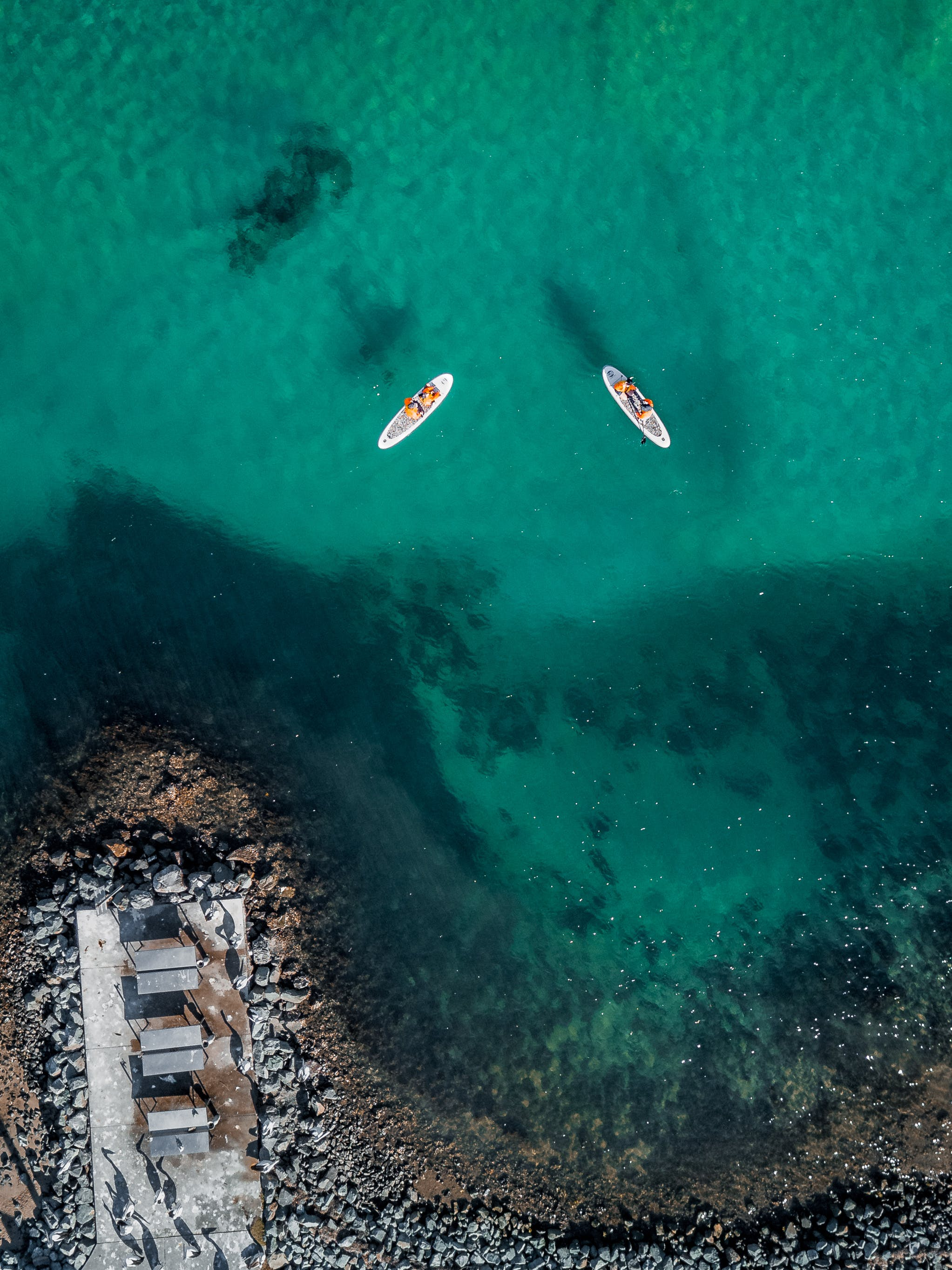 คลังภาพถ่ายฟรี ของ กลางวัน, การพักผ่อนหย่อนใจ, ทะเล, ภาพถ่ายทางอากาศ
